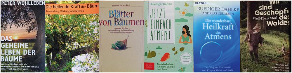 Buchempfehlungen Waldbaden Irene Burian