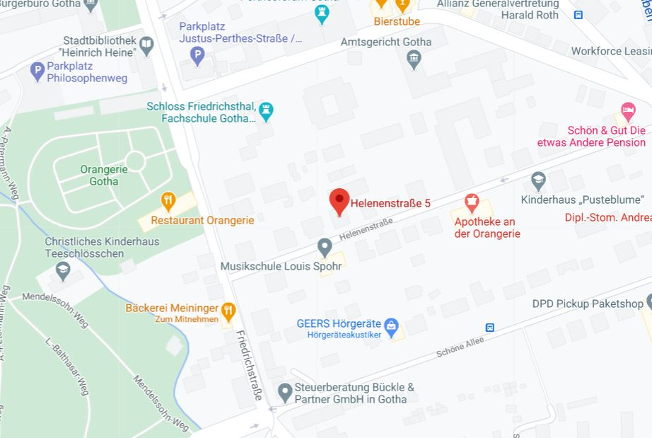 Irene Google Maps
